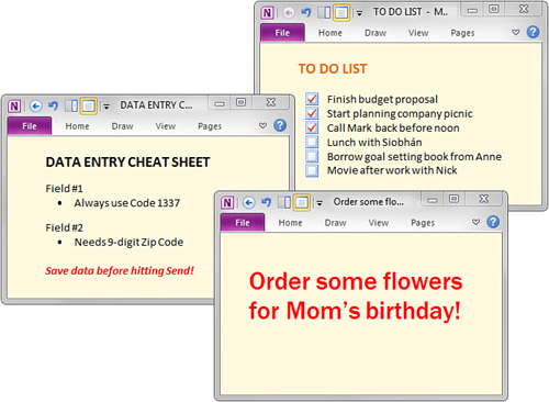 Microsoft OneNote 2010 : Doing Research with Side Notes